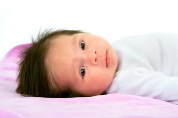 Pretty Newborn Baby Girl