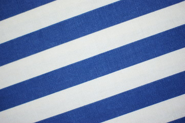 Thick blue and white stripes