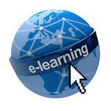 Global e-learning network poster