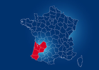 région aquitaine france
