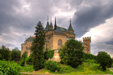HDR of Castle in Bojnice city in Slovakia