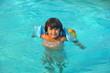 Kinder im Swimmingpool