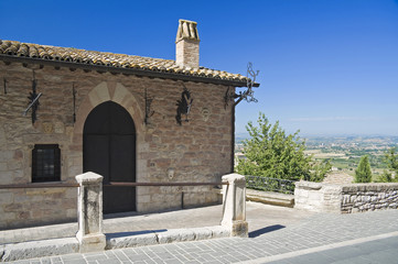 Historical house. Assisi. Umbria.