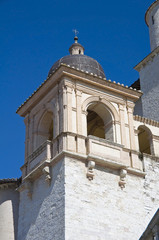 St. Francesco Basilica. Belltower. Assisi.  Umbria.
