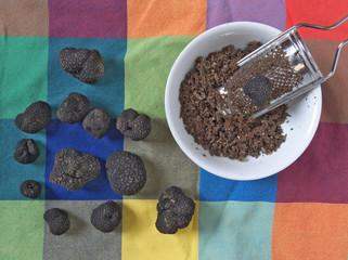 grating truffles