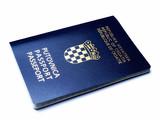 Croatian passport poster