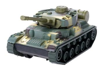 tank on white background