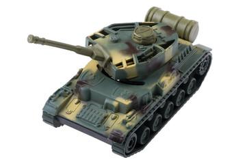 tank on white