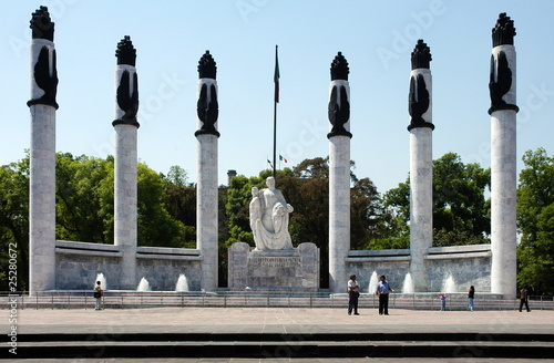 Monument in Mexico city
