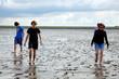 Wattwandern an der Nordsee 689