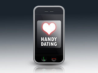 "Mobiles Endgerät ""Handy Dating"""