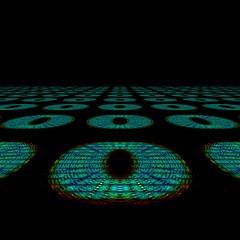 Abstrakt farbiges Hintergrundmuster mit Platz für Text