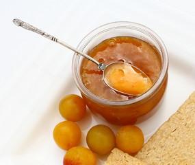 confiture de prunes mirabelles