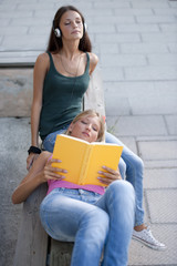 Relaxed students