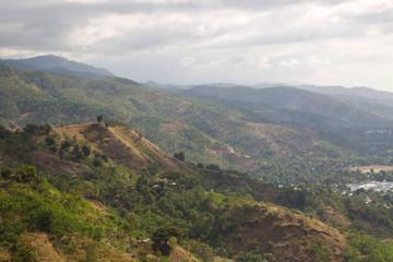 Hillside terrain view Timor Leste