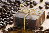 Coffee scented soap
