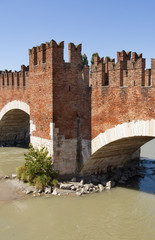 old bridge Castelvecchio in Verona