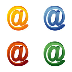 Grafik - at-Zeichen - email