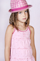 Young Girl in Pink