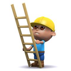 3d Builder and a ladder