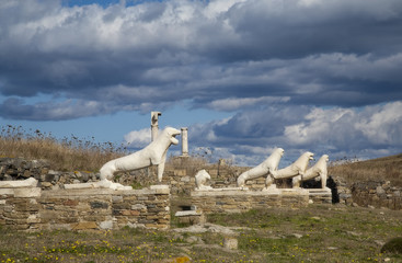 Terrace of the Marble Lions of Delos