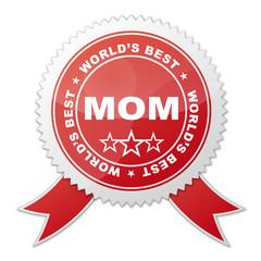 Sello WORLD'S BEST MOM