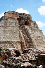 piramide di Uxmal, Messico