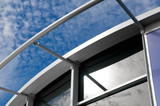 modern building exterior architecture poster