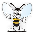 Honey-Bee presenting
