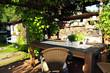 Garten Terrasse Sommer