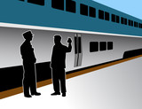 Train Conductor poster