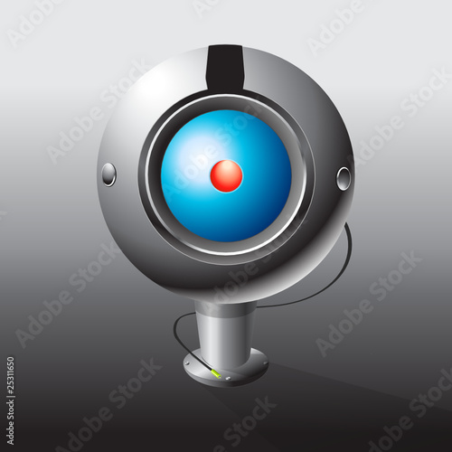web camera illustration