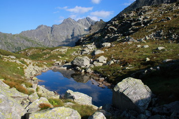 Dolina za Mnichem in the High Tatra Mountains