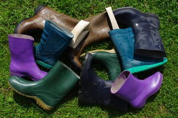 Stos butów