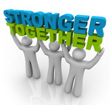 Stronger Together - Lifting the Words poster