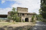 Fototapeta Farmhouse. Assisi. Umbria.