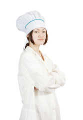 asian female cook
