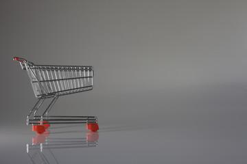 shopping empty wagon cart