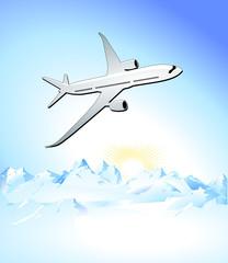 Flugzeug- Reisen