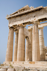 Parthenon on the Acropolis in Athens,Greece