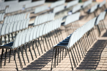 chairs for concert