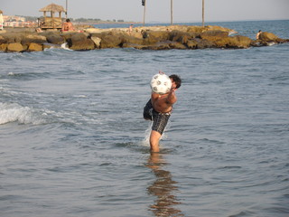 pallone a mare estate
