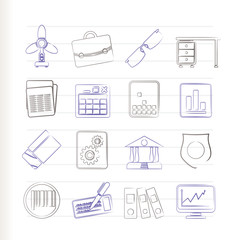 Business and Office Icons - Vector Icon Set 2
