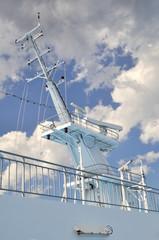 Albero per telecomunicazioni di nave