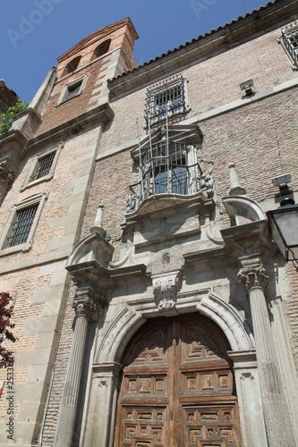 Jesuits church and college  in Alcala de Henares Madrid Spain