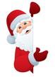 Santa Sign