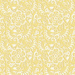 Seamless (you see 4 tiles) floral pattern background