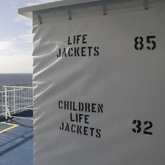 Life Jackets Storage