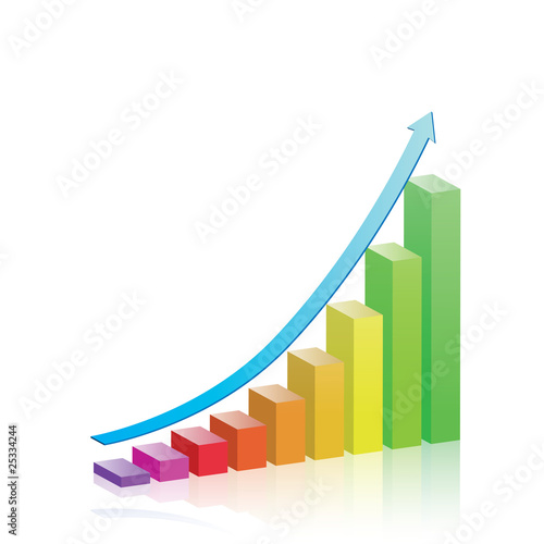 Vector Colorful Growth Graph