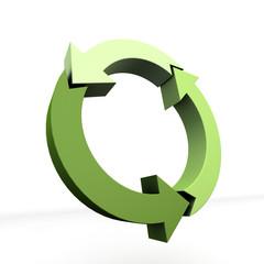 cerchio&frecce verdi